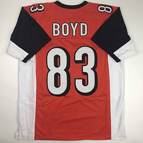 Unsigned Tyler Boyd Cincinnati Orange Custom Stitched Football Jersey Size Men's XL New No Brands/Logos