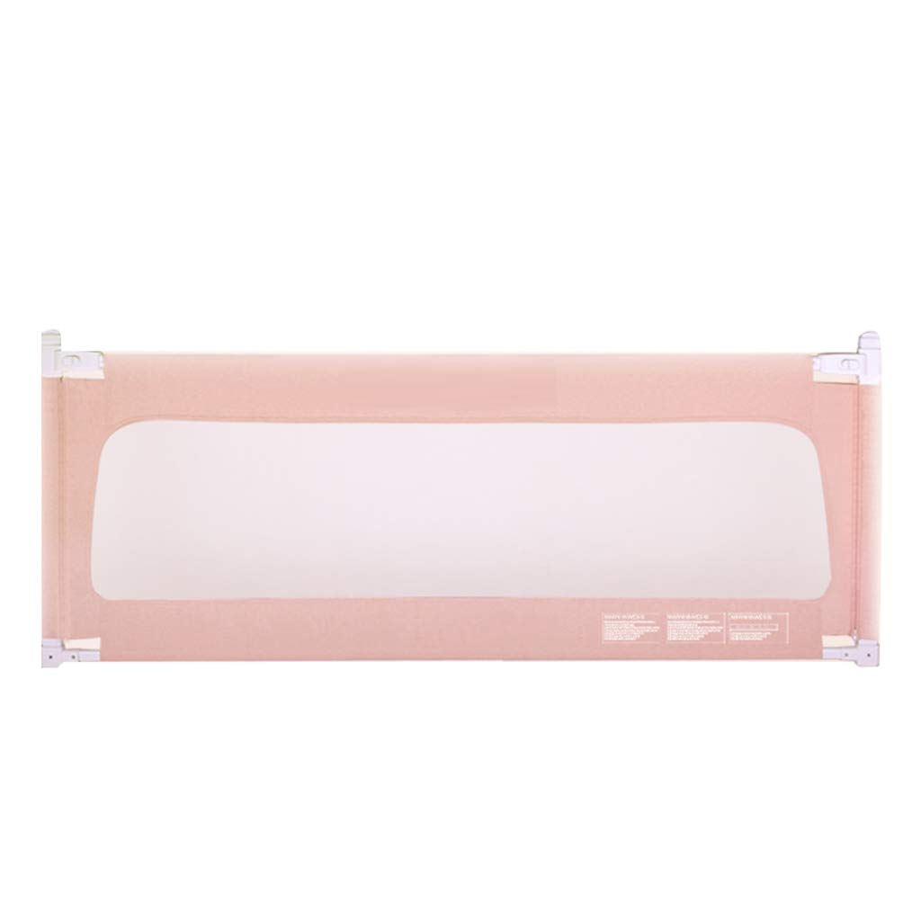 ポータブルベッドガード 幼児のためのキングサイズベッドのための余分な背の高い、長いベッドレール幼児200センチメートル長い安全なベッドレール (色 : Pink) B07H9CHYR2  Pink