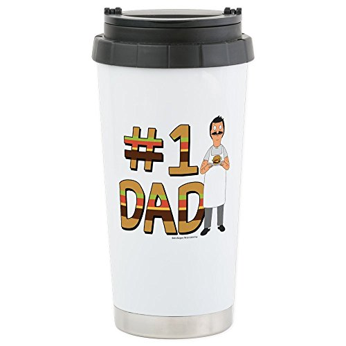 CafePress - Bob's Burgers #1 Dad Stainless Steel Travel Mug