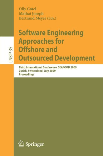 Software Engineering Approaches for Offshore and Outsourced Development: Third International Conference, SEAFOOD 2009, Z