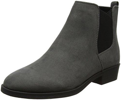 mid Carlson Botas Look New Grey Chelsea Grey Para Mujer FqH10P
