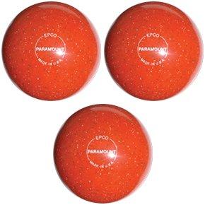 EPCO-Duckpin-Bowling-Ball-Speckled-Houseball-OrangeBalls-3-Balls