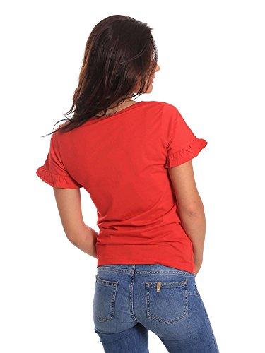 Rouge 811BD64015 jeans T Gaudi Shirt Femmes W0cqU11Rp