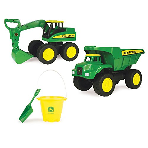 TOMY John Deere Big Scoop Value Set (2 Pack), 15