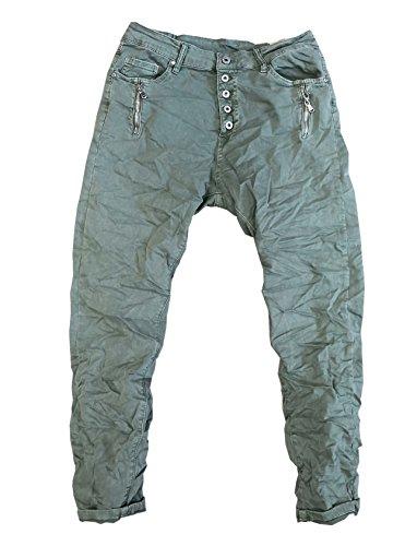 Itaimaska JeansFemme Vert Kaki JeansFemme Itaimaska bf67gyY