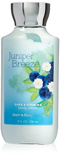 - Bath & Body Works Shea & Vitamin E Lotion Juniper Breeze, 8oz