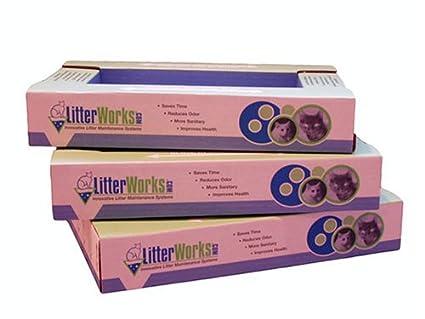 Amazon.com: litterworks maletero recambios paquete de 3 ...