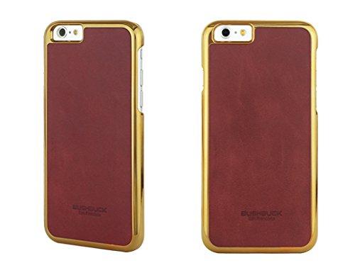 Bushbuck Etui en cuir pour iPhone 6s/iPhone 6 Rouge