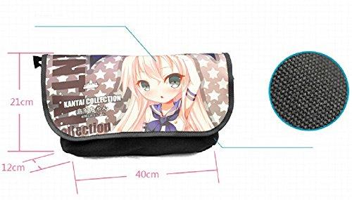 Siawasey Akame ga KILL! Anime Esdeath Messenger Bag Shoulder Bag