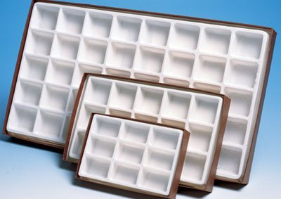 Amazon com: Eighty Cell Rock Box & Tray: Collection Display
