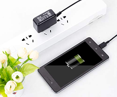 Micro Wall Travel Charger 5V 2A Power Adapter with US Plug and Fixed Micro Cable for Samsung Galaxy S6 S5 S4 S3 S2 Si9003,S5820 N7100 Note3 Note4 Black