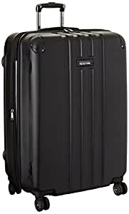 Kenneth Cole Reaction 28 Inch ABS Expandable 8-Wheel Upright Pullman Reverb, Black, One Size