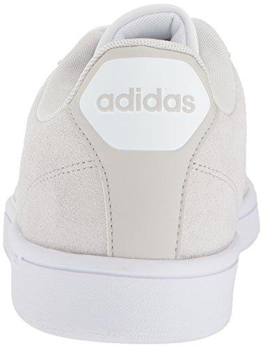 adidas NEO Men's CF Advantage CL Sneaker, Grey One/White, 10 M US