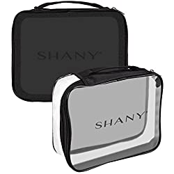 SHANY Clear Travel Makeup Bag - Cosmetics Organizer – It's Show Time
