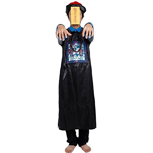 PATYMO Chinese Zombie Costume - Jiangshi Dress -Men's Adult Small Size