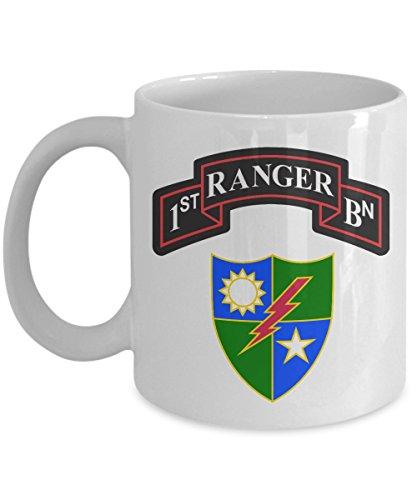 Army Ranger Coffee Mug - 1st BN Insignia ()