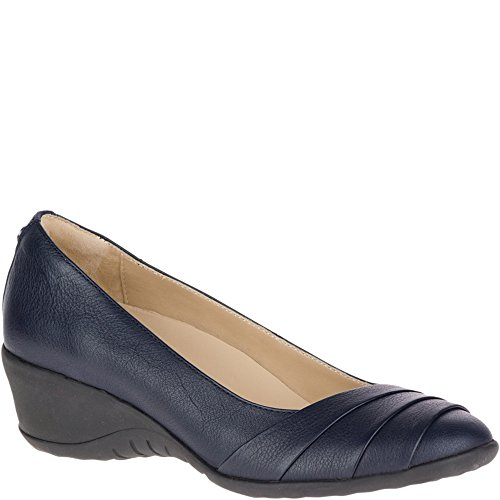 Hush Puppies Women's Jalaina Odell Slip-On Loafer, Dark Sapphire, 8 W US