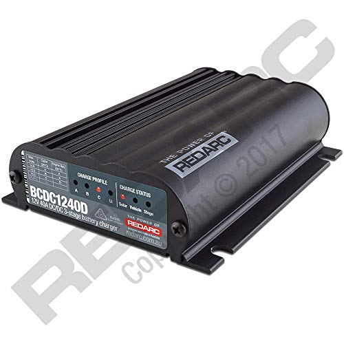 Price comparison product image REDARC BCDC1240D Dc-Dc Charger 12V40a Out