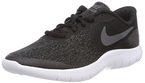 Nike Kids Flex Contact (GS) Black/Dark Grey/Anthracite Running Shoe 5 Kids US (Kids Nikes Running Shoes)