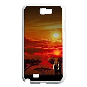 Sunset Custom Case for Samsung Galaxy Note 2 N7100, Personalized Sunset Case