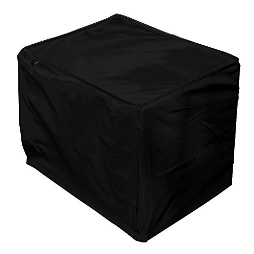 Pet Dog Crate Cage Kennel COVER Black 18″ Length Size S Review