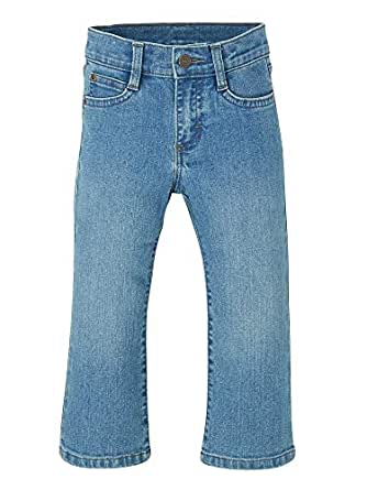 Wrangler Unisex-Child ZT6ZBCP Authentis Toddler Boys' Bootcut Jean Jeans - Blue - 2T