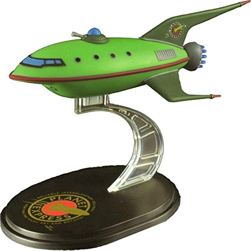 LootCrate July 2016 Futurama Planet Express Ship Model Q-Fig from QMX by QMX Mini Masters Vehicles