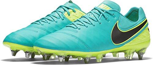 Nike TIEMPO LEGEND VI SG-PRO mens soccer-shoes 819680-307_9 CLEAR JADE/BLACK-VOLT 819680 307