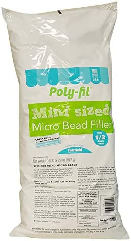 Fairfield Poly-Fil Micro Beads, 20-Ounce