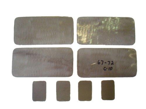 Chevrolet C10 Side Marker (1967-1972 Chevrolet C10 Truck & Blazer Steel side marker light & stake pocket filler plates)