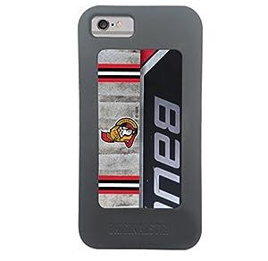 NHL Ottawa Senators Recycled Hockey Stick iPhone 6/6s Case, Black
