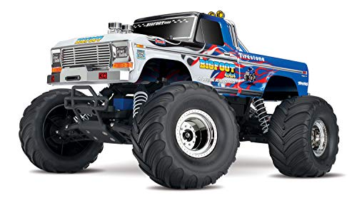 oot No. 1 2WD 1/10 Scale Monster Truck Vehicle, Blue ()