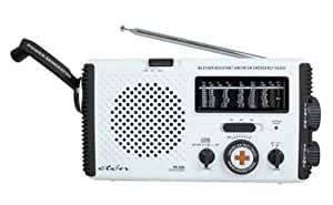 American Red Cross FR350 Emergency Radio, White (Discontinued by Manufacturer)