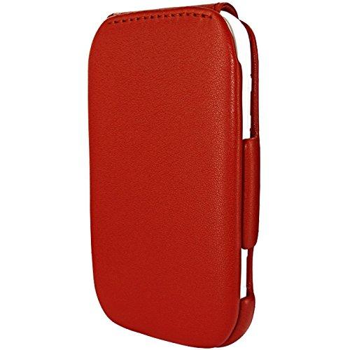 Piel Frama Wallet Case for Nokia Lumia 710 - Red