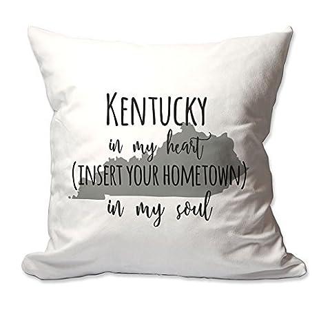 Personalizado KENTUCKY en mi corazón [su ciudad natal] en mi ...