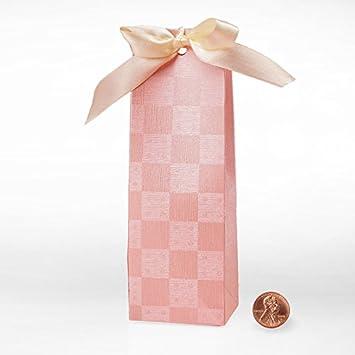 Amazon.com: Cartón Peach tienda de campaña Favor cajas – 25 ...