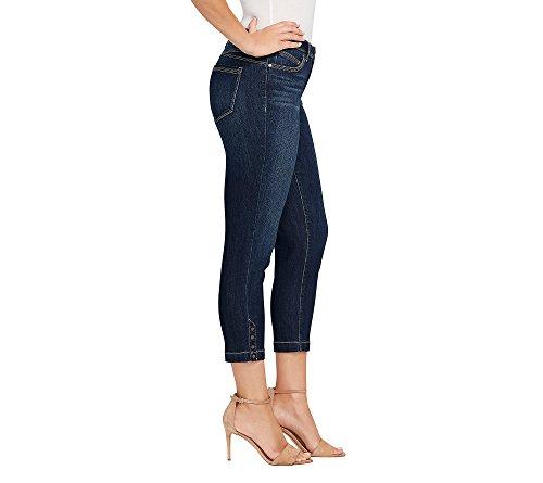 Jean Curvy Crop Mujer Bandolino Acadia Hem Skinny Mezclilla Para Lisbeth Snap RAw4nqYfU