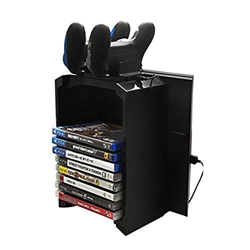 Docooler 2-In-1 Juegos Storage Tower Twin…