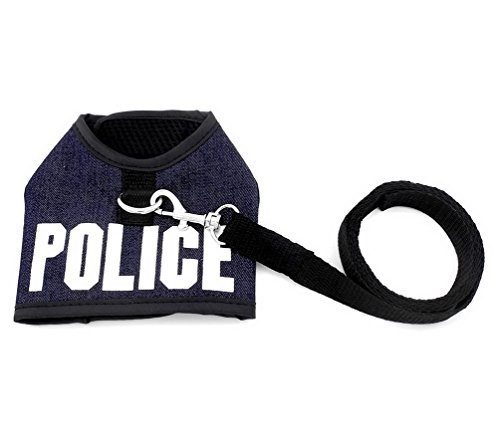 SMALLLEE LUCKY STORE Clothes Police Harness Padded