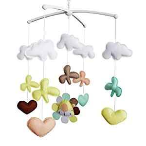 Baby Lullaby Nursery Crib, Cot Music Mobile Song, Bedtime Bed Bell Toy 60