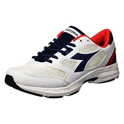 Diadora Unisex Adults' Shape 7 Running Shoes WHITE/SALTIRE NAVY (C2816) wlmBgj3e
