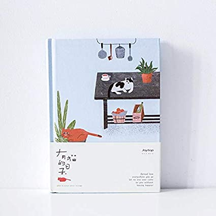 Amazon.com : Planner 2019 Korean Kawaii Cute Cat Home Daily ...
