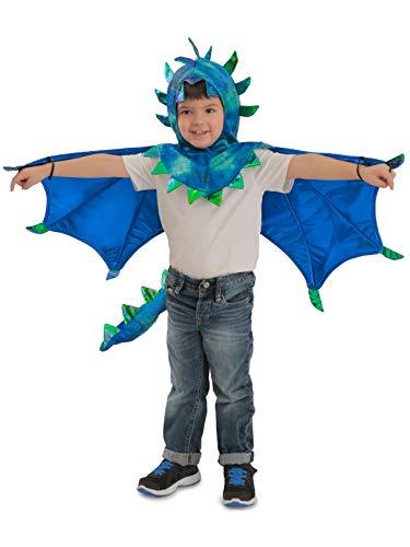 Princess Paradise Kids Sully Dragon Hooded Cape Costume, Small/Medium, -
