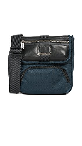 Tumi Men's Barton Cross Body Bag, Navy, One Size by Tumi
