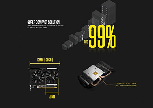 ZOTAC GeForce GTX 1050 Ti OC Edition 4GB GDDR5 Super Compact Gaming Graphics Card (ZT-P10510B-10L) by ZOTAC (Image #8)