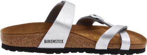 Birkenstock Women's Mayari Silver Birko-Flor Sandal 39 N (US Women's 8-8.5) by Birkenstock (Image #6)