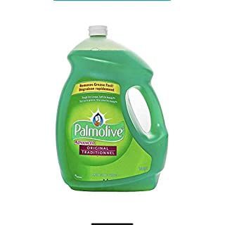Palmolive Advanced Liquid Dish Soap | Original Scent – Large 5 Liter (169 Ounce) Bottle – Tough On Grease, Soft On Hands