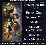 Aspects Of Fiddler On The Roof, Funny Girl, George M!, Mame, Man Of La Mancha, Oliver!, Kiss Me Kate