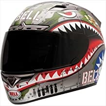 Bell Vortex Flying Tiger Helmet - Large/Silver by Bell