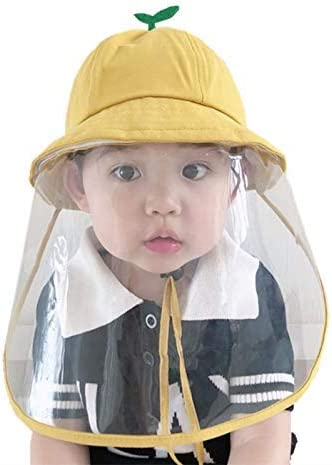 Toddler Baby Sun Hats Face Shield UV Protection Cotton Hat for Kids Children